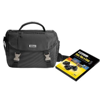 Nikon Black Digital SLR Camera Bag with Instructional DVD 9793