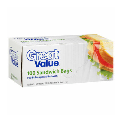Great Value Sandwich Bags