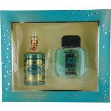 4711 By Muelhens For Men. Gift Set ( Eau De Cologne Splash 3.4 Oz + Aftershave 3.4 Oz )