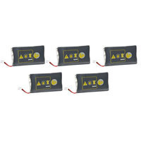 Replacement Battery for Plantronics 64399-01-5 (5-Pack) Spare Battery For CS351 and CS361