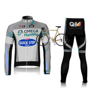 2012 quick step team harness long-sleeved cycling clothing / bike clothing breathable perspiration