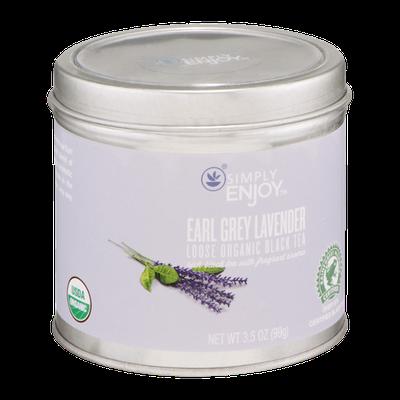 Simply Enjoy Earl Grey Lavender Loose Organic Black Tea