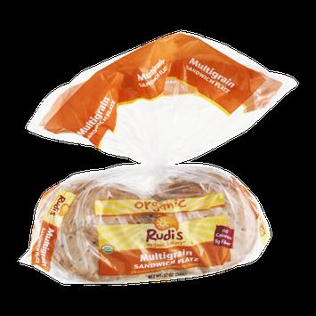Rudi's Organic Bakery Sandwich Flatz Multigrain Organic - 8 CT
