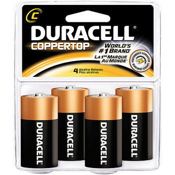 Duracell Coppertop C Batteries