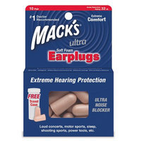 Mack's Ultra SafeSound Earplugs