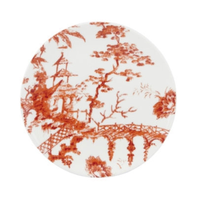 Lenox Fine China - Scalamandre Toile Tale Sienna Accent Plate by Lenox
