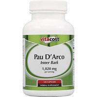 Vitacost Brand Vitacost Pau D'Arco Inner Bark -- 1,020 mg per serving - 120 Capsules