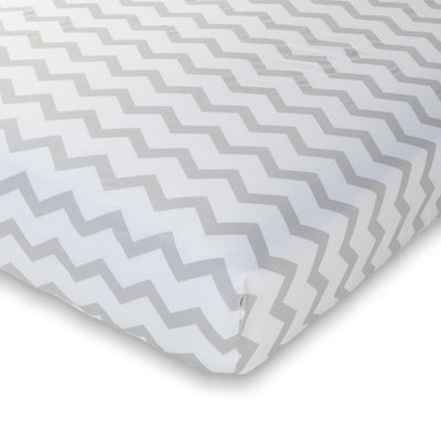 Summer Infants Crib Sheet Chevron - SUMMER INFANT PRODUCTS, INC.