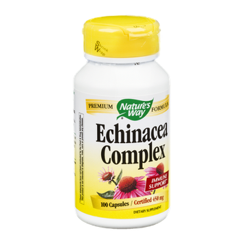 Nature's Way Echinacea Complex 450mg Capsules - 100 CT
