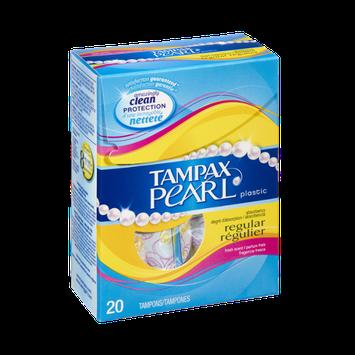 Tampax Pearl Fresh Scent Regular Tampons- 20 CT