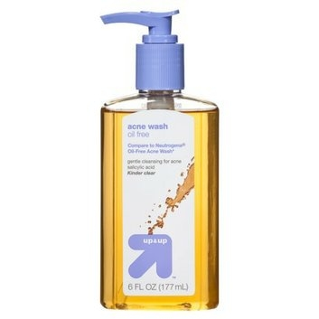 Up and up face wash