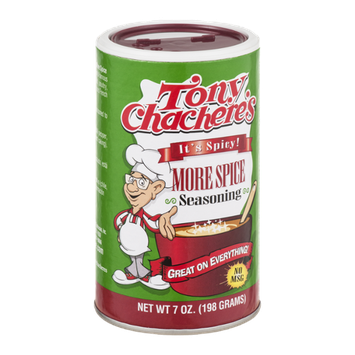 Tony Chachere's More Spice Seasoning