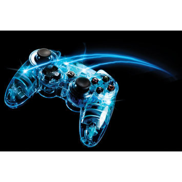 PDP PS3 Afterglow Wireless Controller, Blue (PS3)