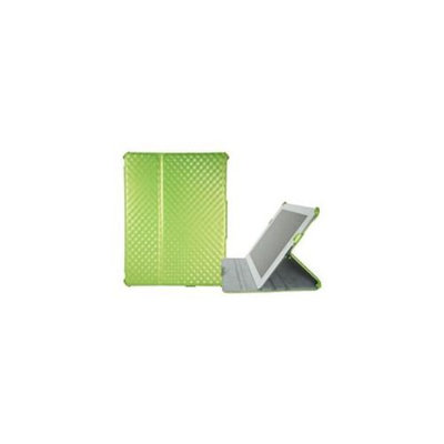 Grooving ID201-GN-001 Grooving Argyle Slim Folio case for iPad 2 Green