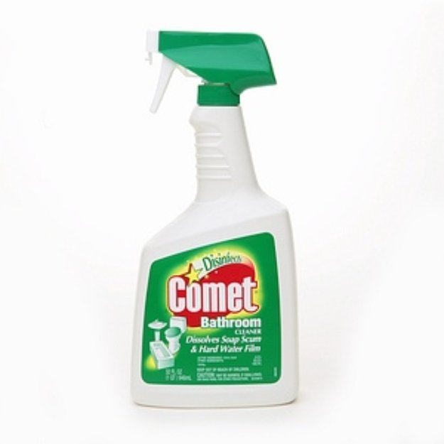 Comet Disinfects Bathroom Cleaner