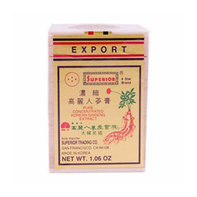 Superior Trading Co. Superior 4-Star Brand Pure Concentrated Korean Ginseng Extract 1.06 oz