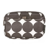 Dwell Studio DwellStudio Baby Dots Travel Case, Small, Chocolate (Discontinued by Manufacturer)