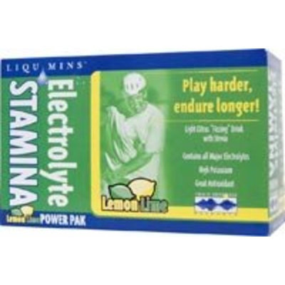 Trace Minerals Research Electrolyte Stamina Power Pak Lemon Lime Trace Minerals 32 Packet
