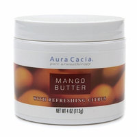 Aura Cacia Mango Butter with Refreshing Citrus