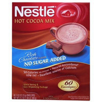 Nestlé Hot Cocoa Mix, Rich Chocolate Flavor, No Sugar Added, 60 Envelopes