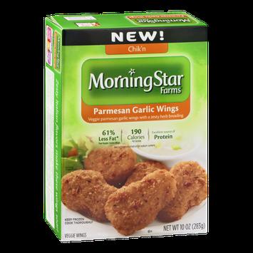 MorningStar Farms Chik'n Parmesan Garlic Veggie Wings