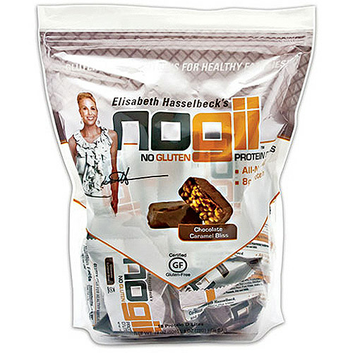 NoGii Protein D'Lites Chocolate Caramel Bliss No Gluten Protein Bars