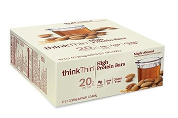 Think Products BAR,H-PROT, MAPLE ALMOND, (Pack of 10)