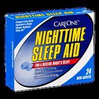 CareOne Nighttime Sleep Aid Mini Caplets