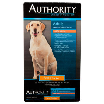 AuthorityA Large Breed Adult Dog Food
