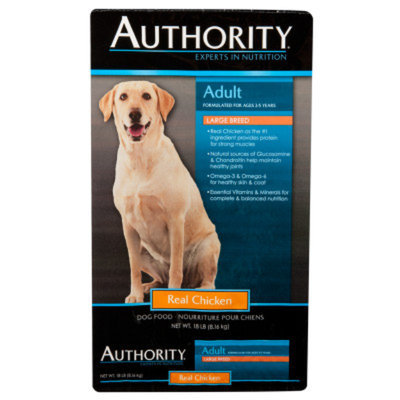 AuthorityA Large Breed Adult Dog Food