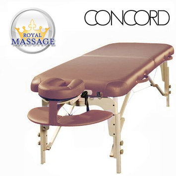 Vandue Corporation Concord Elite Professional Oversized Portable Massage Table w/Bonuses - Otter