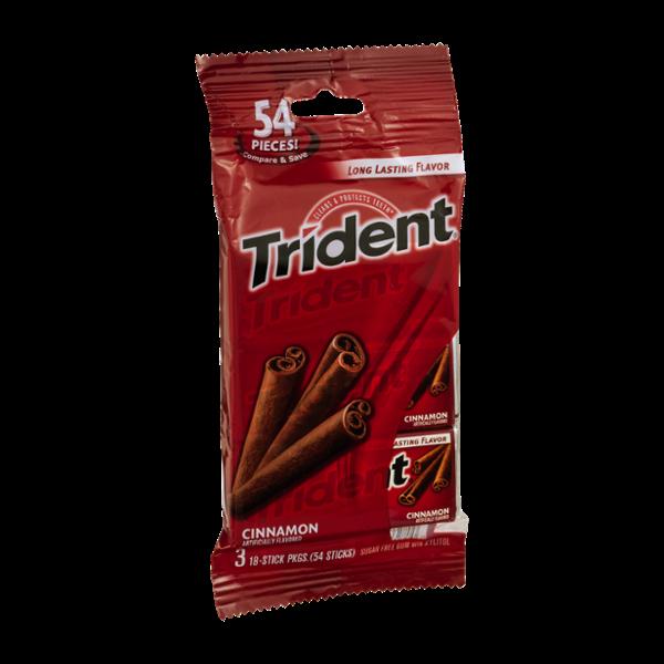 Trident Cinnamon Sugar Free Gum