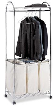 Oia Organize It All 1777 Chrome Laundry Center
