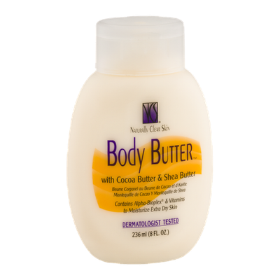 Naturally Clear Skin Body Butter