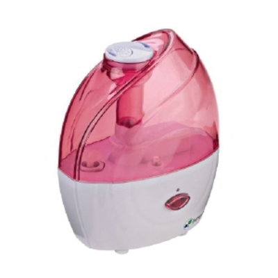 PureGuardian 10-Hour Ultrasonic Table Top Humidifier, Pink, 1 ea