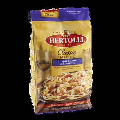 Bertolli Classic Meal for Two Shrimp Scampi & Linguine