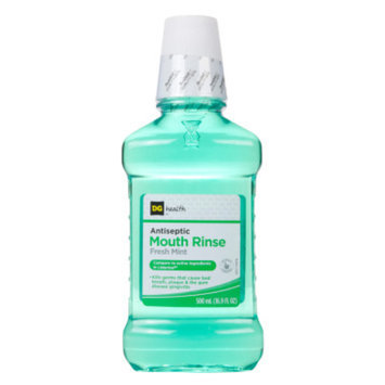 DG Health Antiseptic Mouth Rinse - Fresh Mint, 500 ml