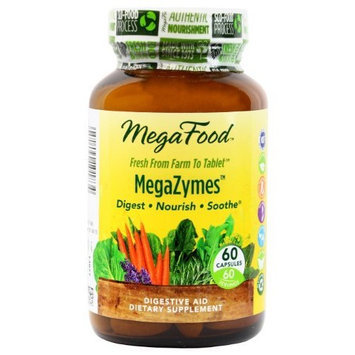 Mega Food MegaFood MegaZymes Tablets, 60 Count
