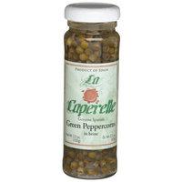 La Caperelle Green Peppercorn in Brine, 3.5-Ounce Jars (Pack of 12)