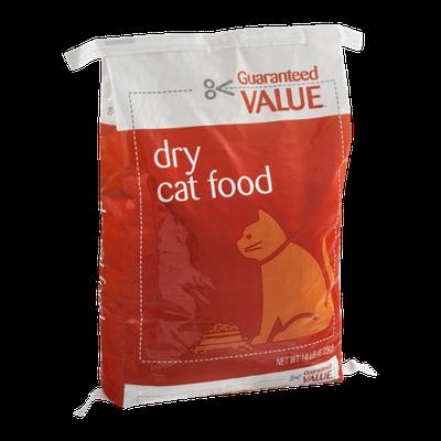 Guaranteed Value Dry Cat Food