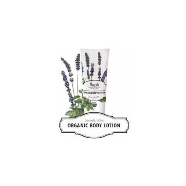 Nourish Organic™ Body Lotion - Lavender Mint