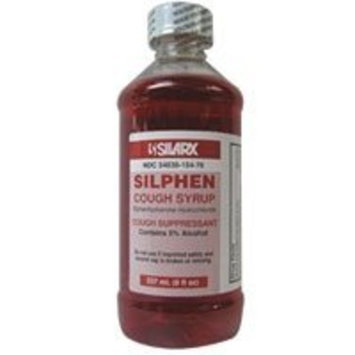 SILARX PHARMACEUTICALS Silphen cough suppressant syrup - 8 oz