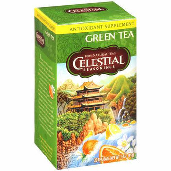 Celestial Seasonings Green Tea 20 Tea Bags Case of 6