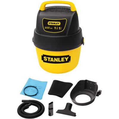 Stanley 1 Gallon Wet/Dry Vacuum - Yellow