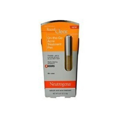 Neutrogena Rapid Clear On-the-Go Acne Treatment Pen, 0.07 Ounce
