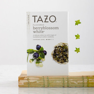 Tazo Berryblossom White Filterbag Tea White Tea