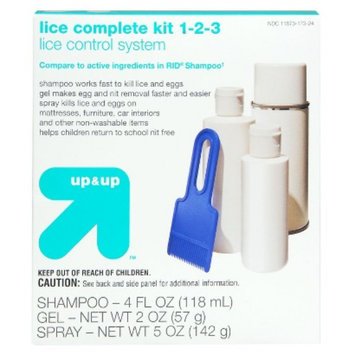 Perrigo Up & Up Lice Complete Kit 1-2-3 Lice Control System