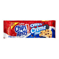 Nabisco Chips Ahoy! Chewy Oreo Creme Filled Cookies