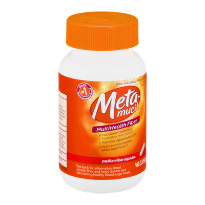 Metamucil Multi-Health Fiber Capsules - 160 CT
