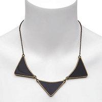 Brandy Pham Ha Enamel 3-Arrowhead Necklace with Chain
